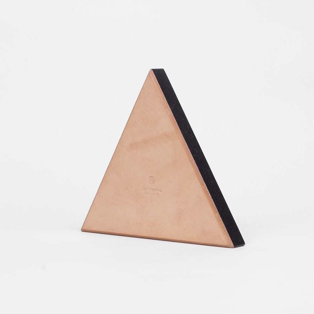 Black Triangle Stone Trivet