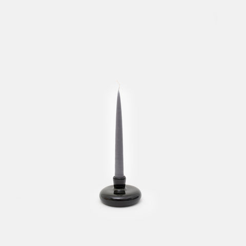 Candlestick Holder in Charcoal