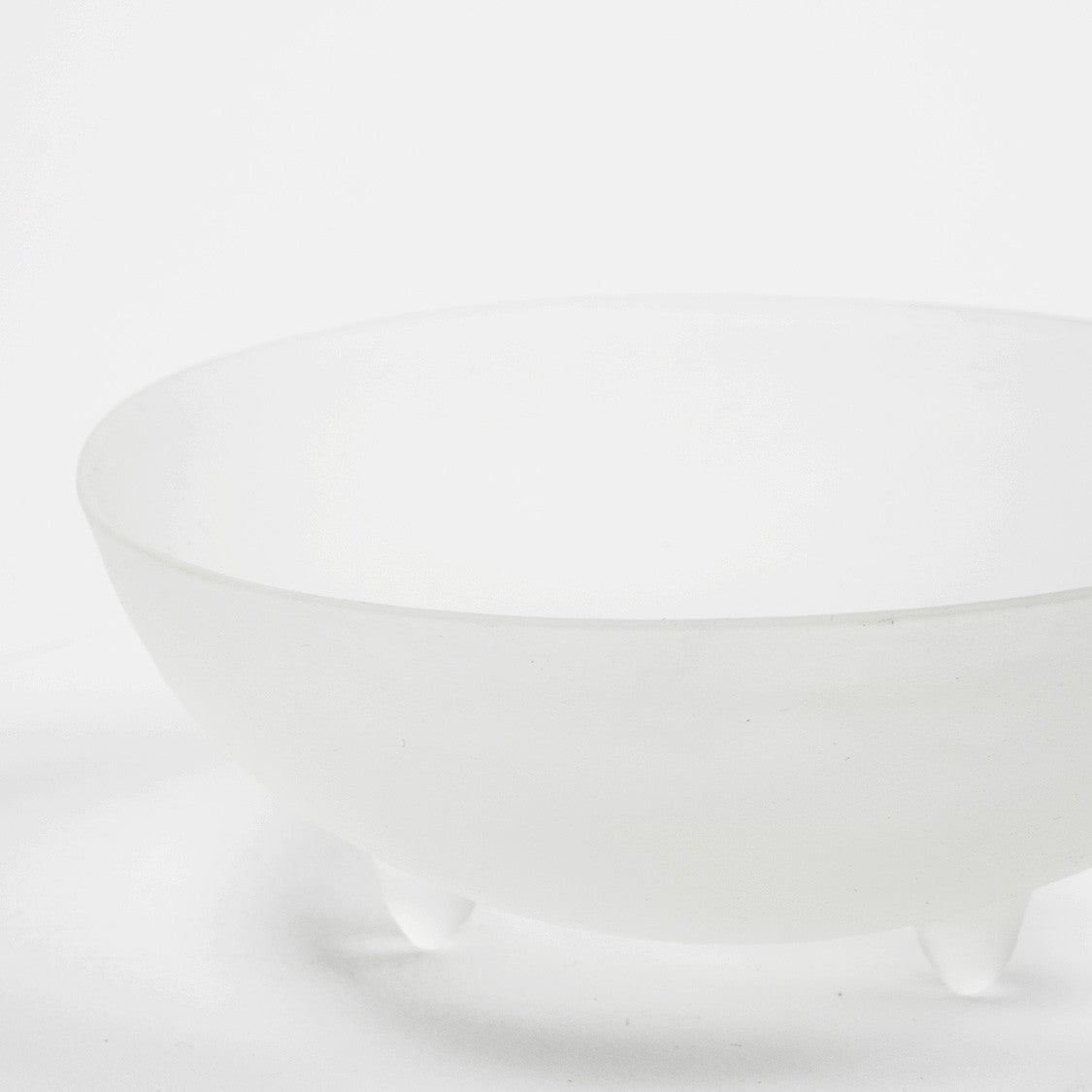 "4"" Clear Spike Bowl"