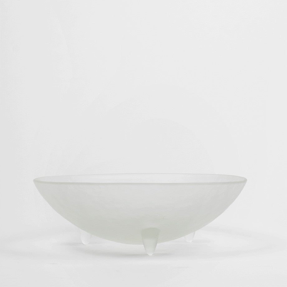 "10"" Clear Spike Bowl"