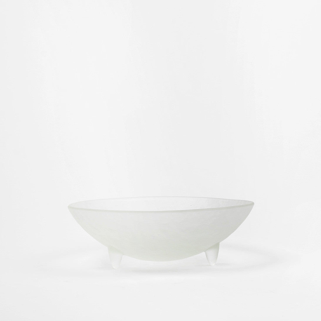 "10"" Clear Spike Salad Bowl Set"