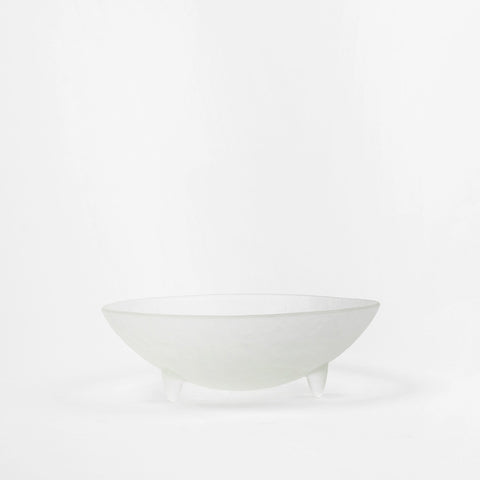 "10"" Clear Spike Serving Bowl"
