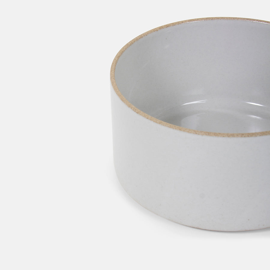Tall Cylinder Grey Bowl