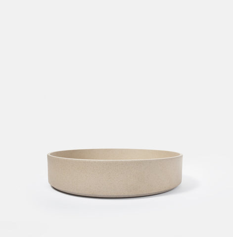 "10"" Cylinder Beige Serving Bowl"