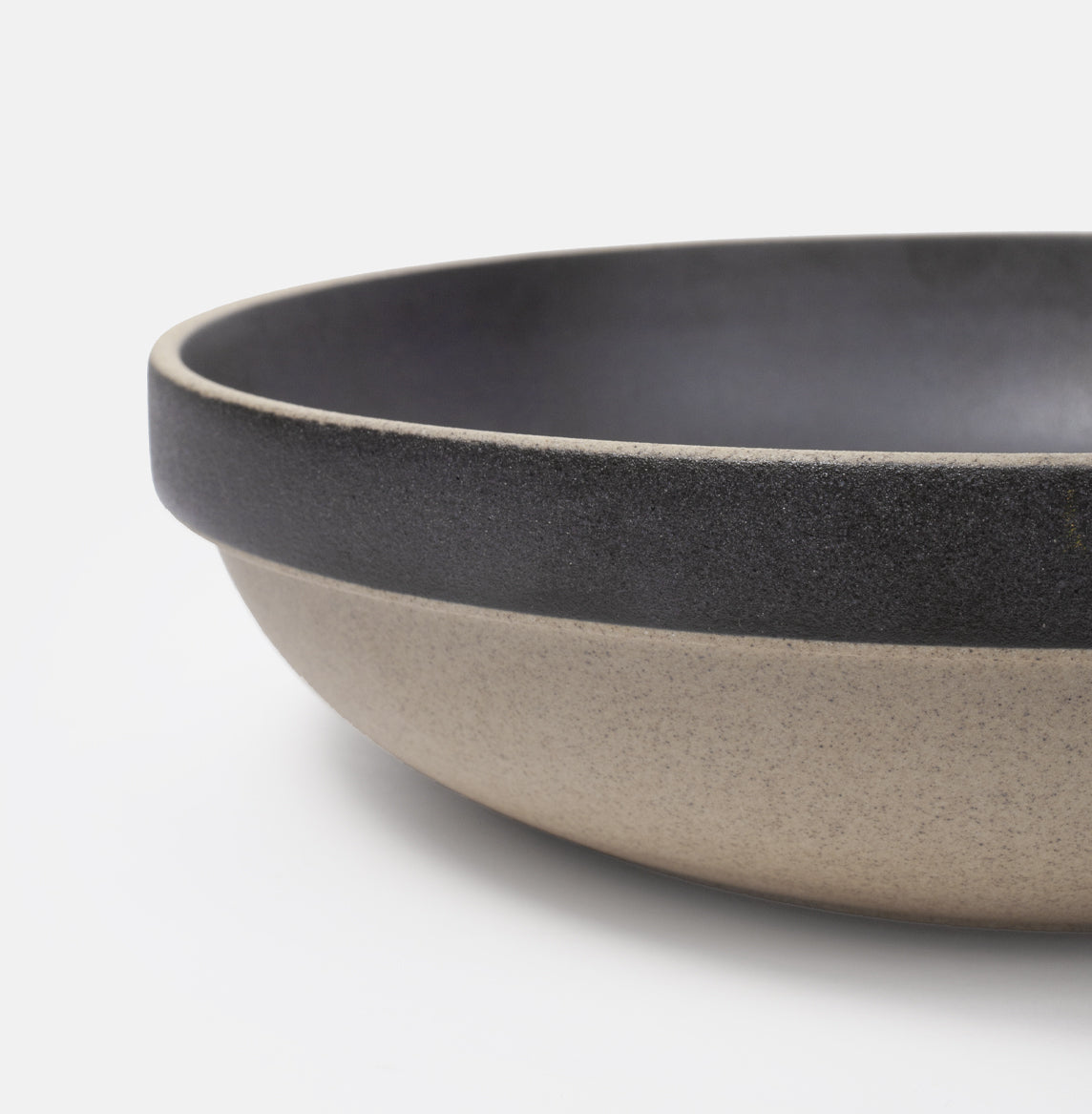 "8.5"" Round Black Serving Bowl"