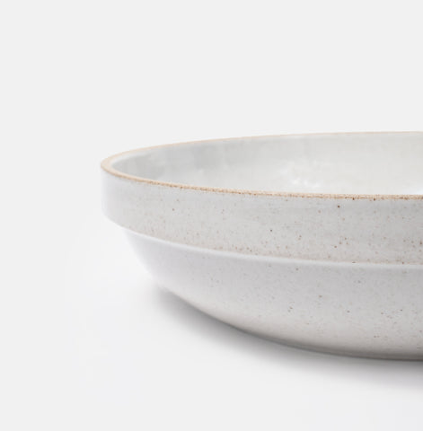 "8.5"" Round Grey Serving Bowl"