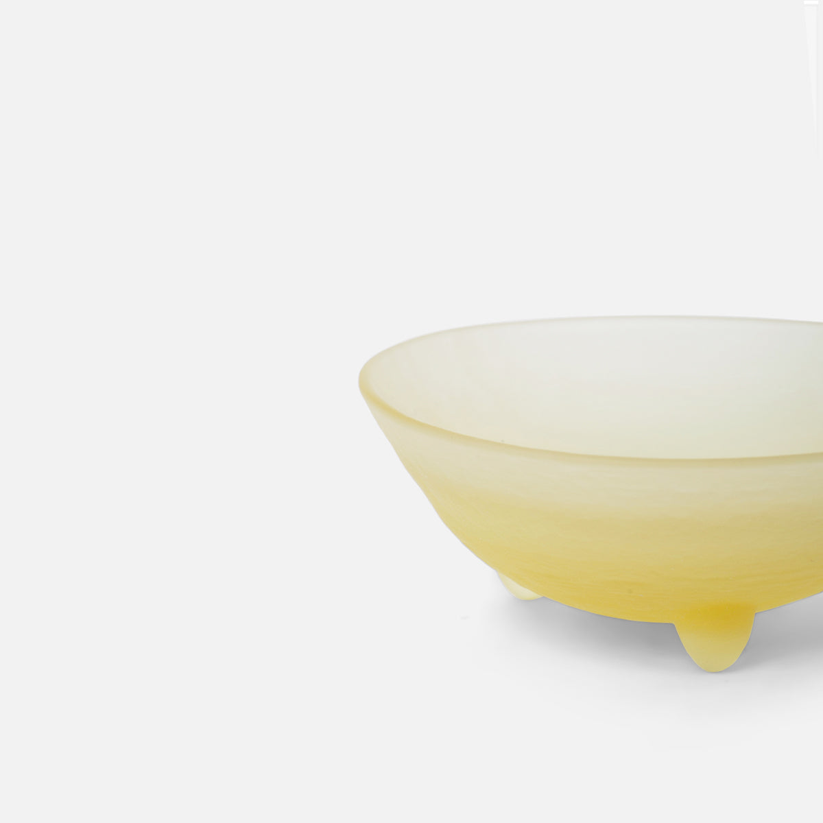 "3"" Yellow Spike Bowl"
