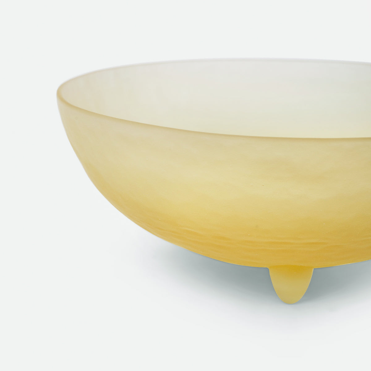 "4"" Yellow Spike Bowl"