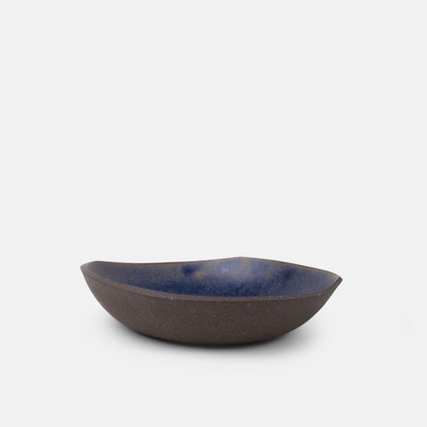 Golden Blue Medium Bowl