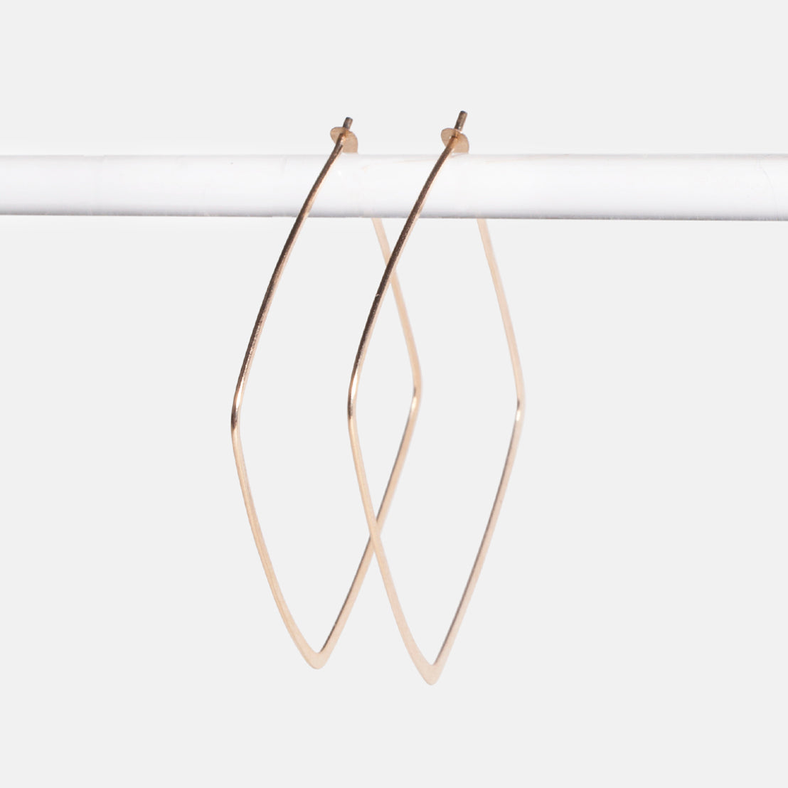 Large Square Hoops