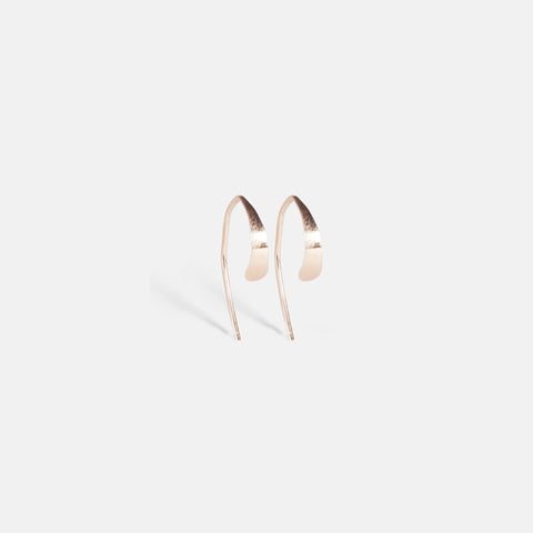 Small Wishbone Hoops