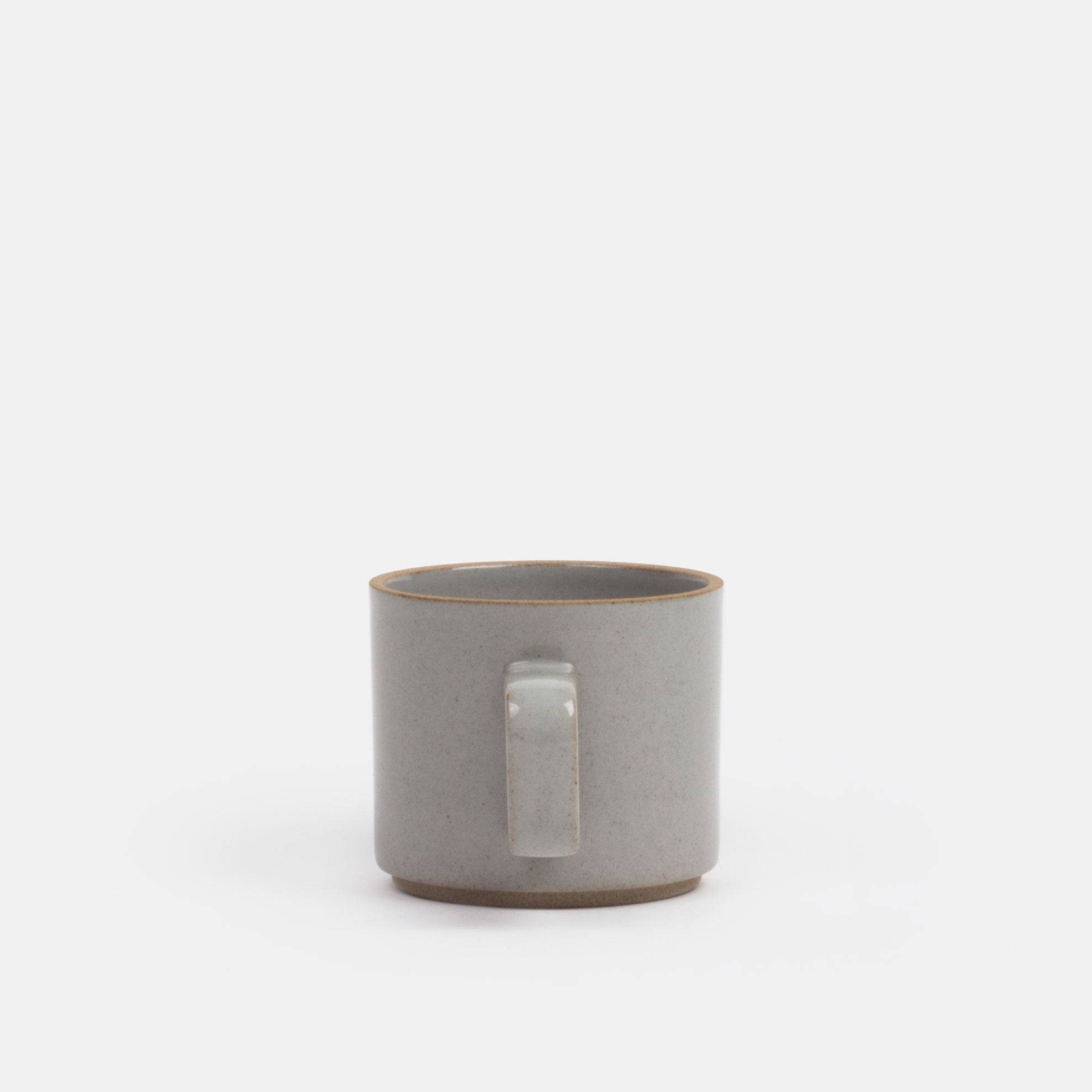 Gloss Grey Mug Short
