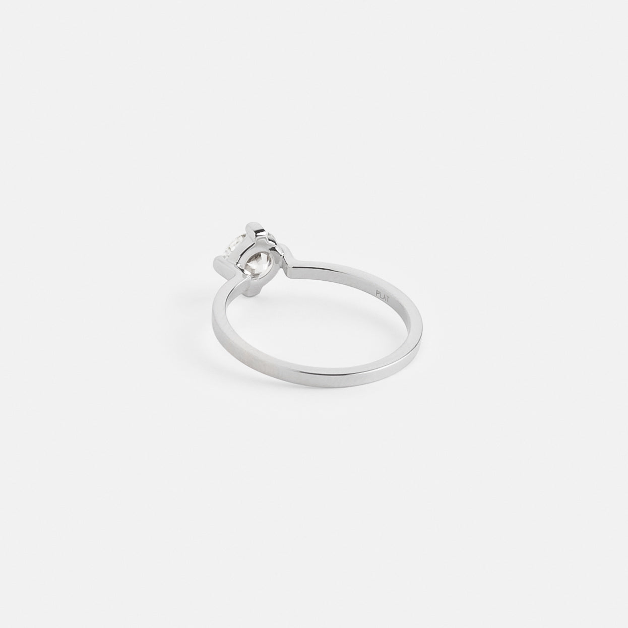 Ema Ring in Platinum