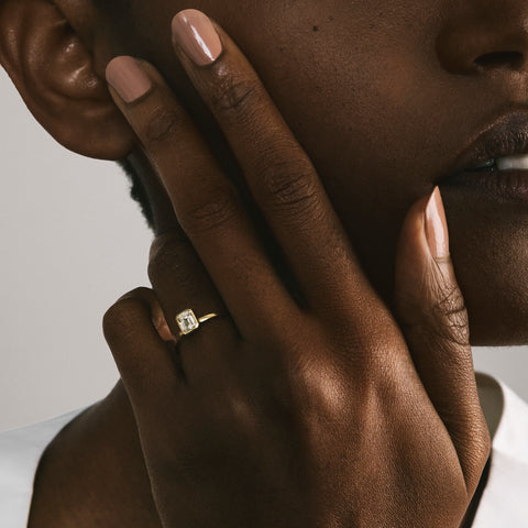 Auda Ring in Gold