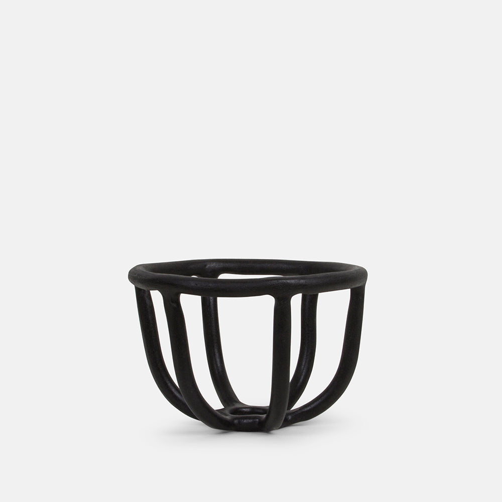 Moth Fruit Bowl in Black