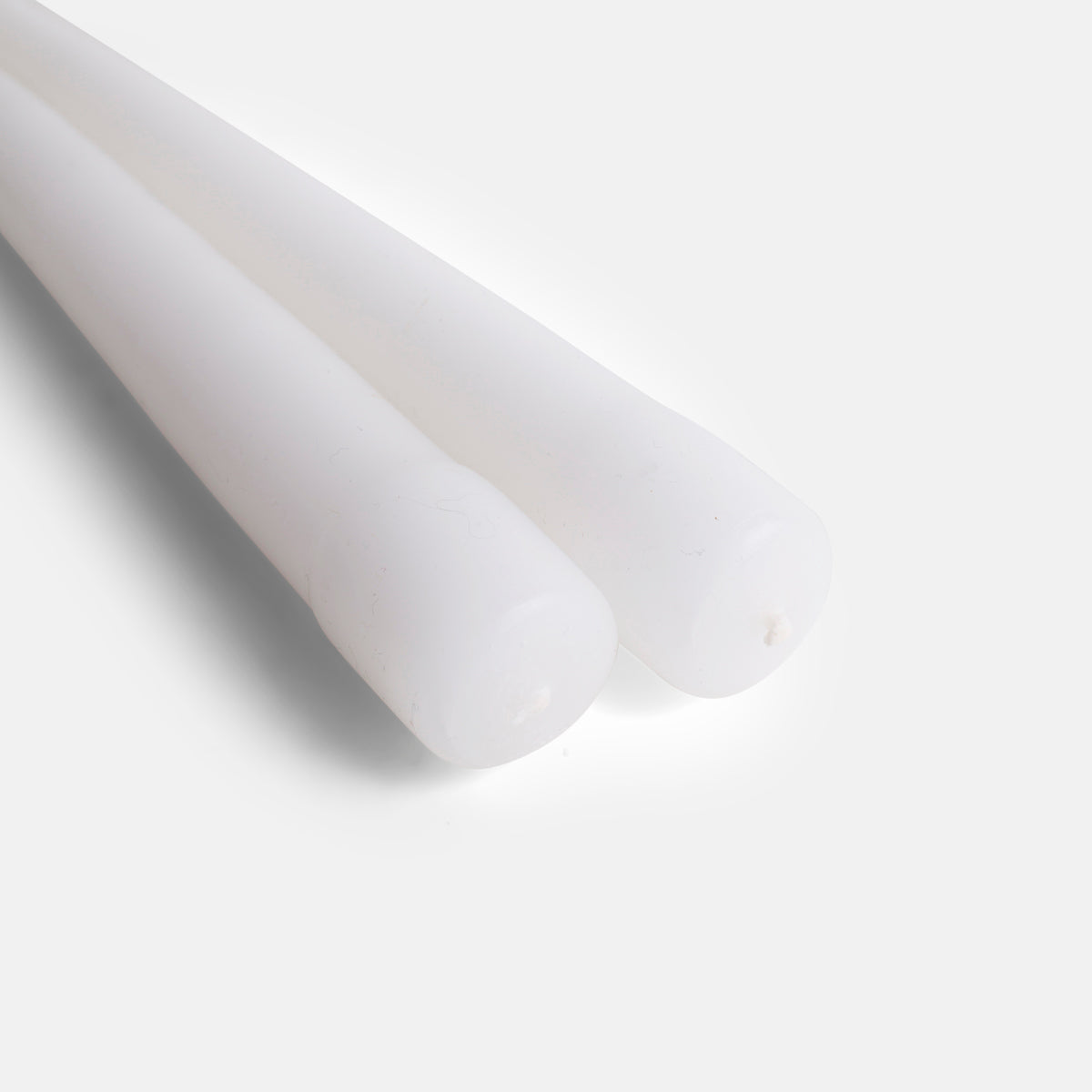 A Set of Taper Candles in White