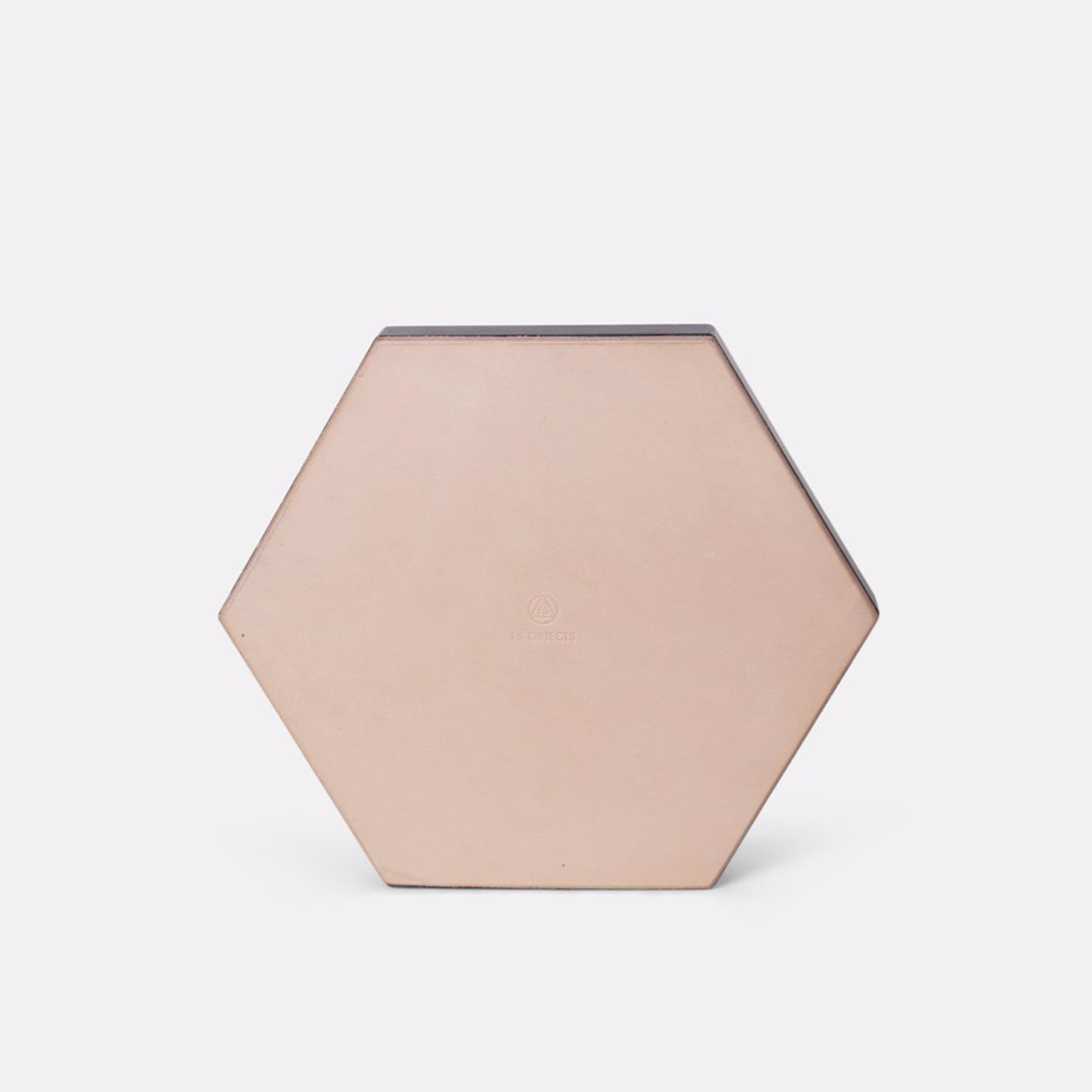 Green Hexagon Trivet