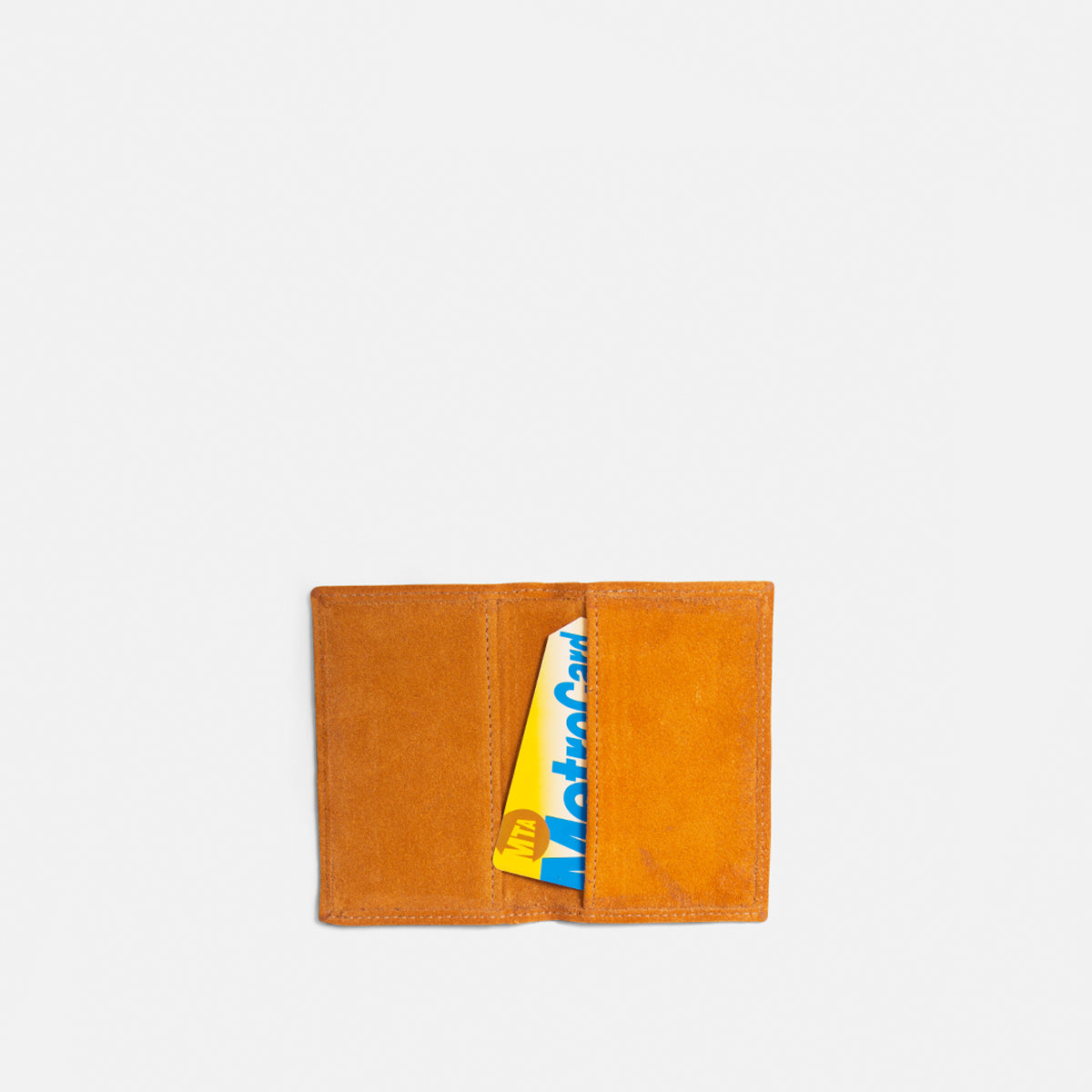 Fold Over Yellow Card Case