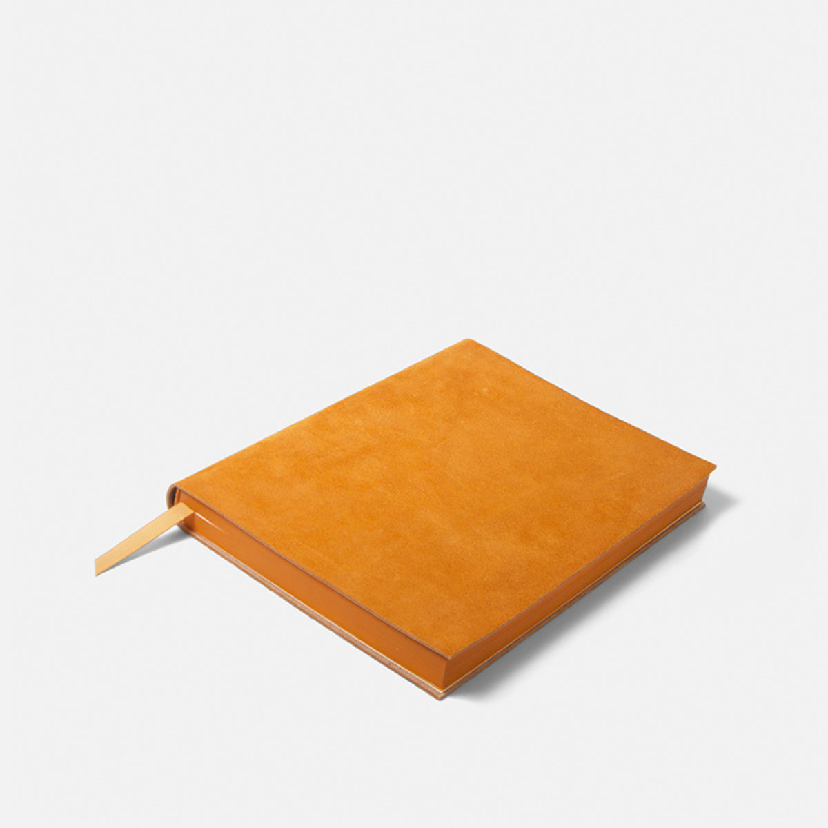 Large Yellow Leather Notebook