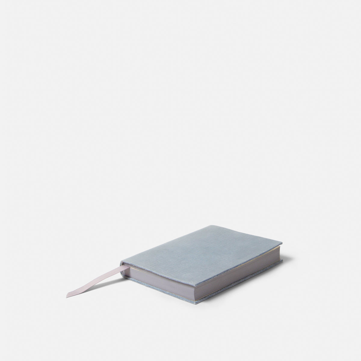 Small Slate Leather Notebook