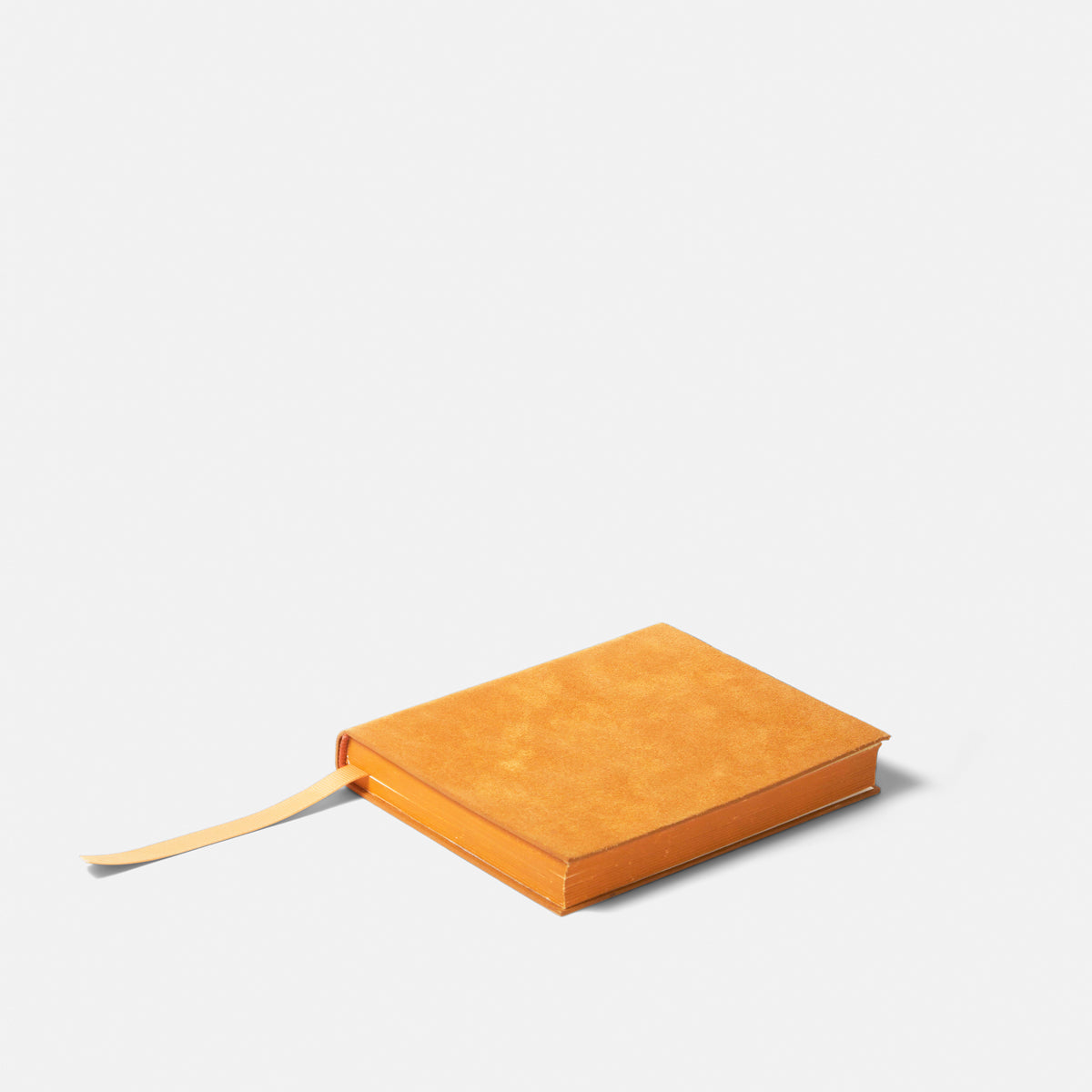 Small Yellow Leather Notebook