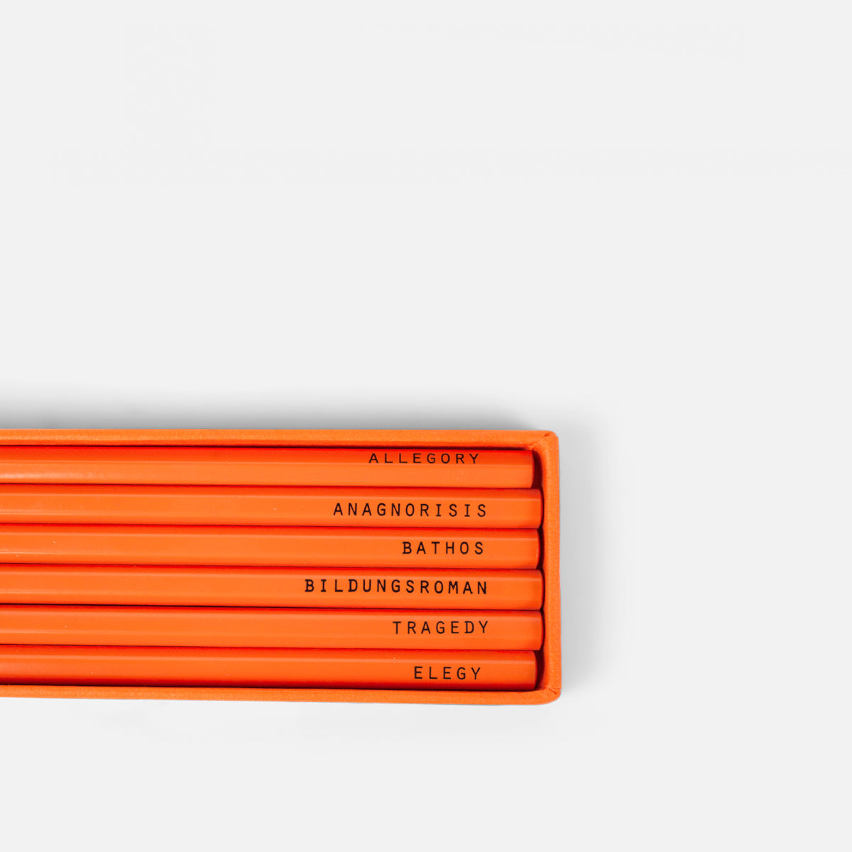 Literary Pencil Set