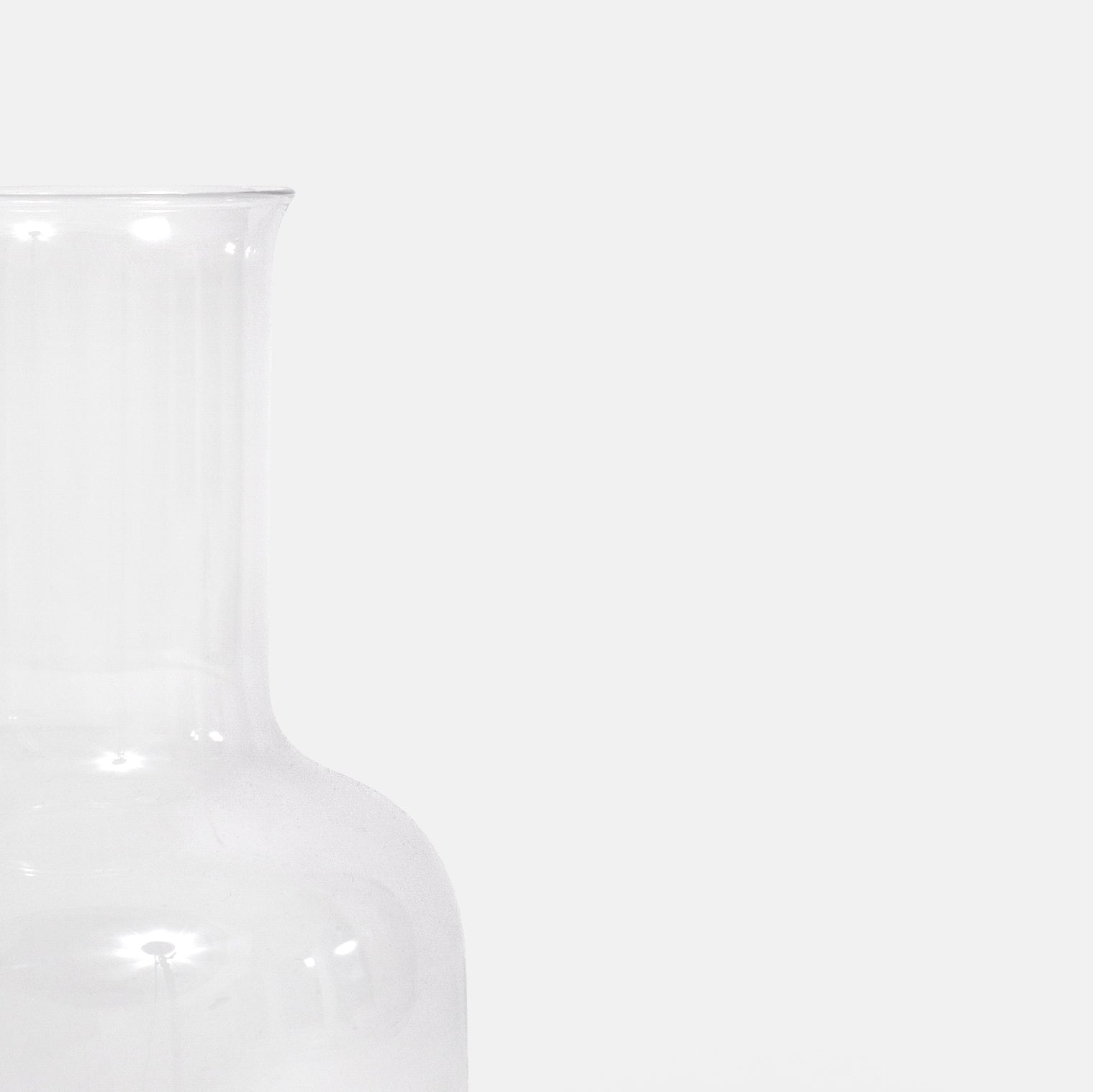 Clear Carafe
