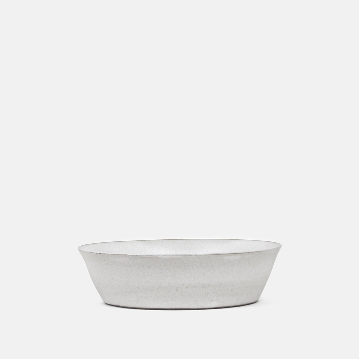 "7"" White Tapered Bowl"