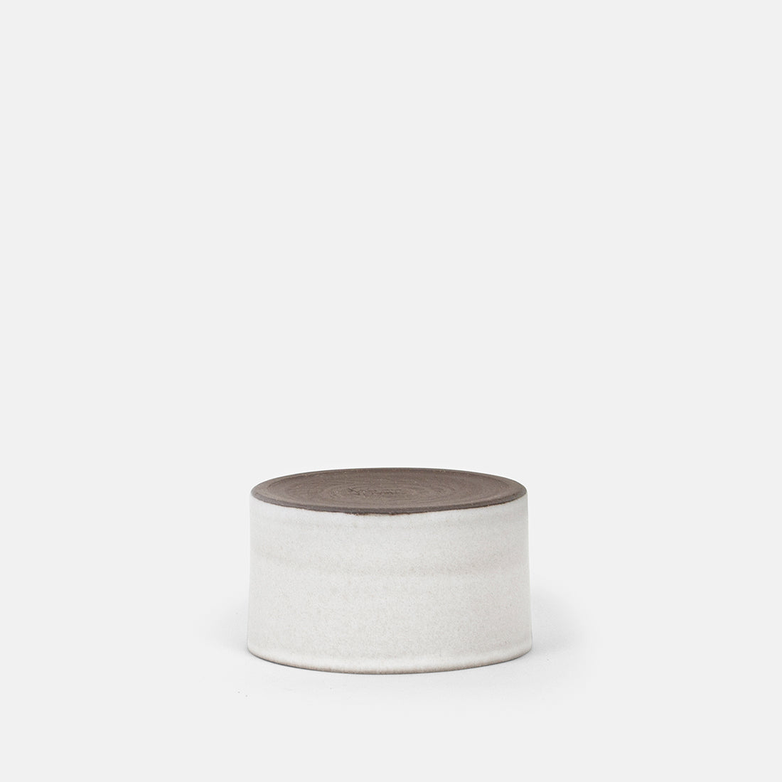 Small White Cylinder