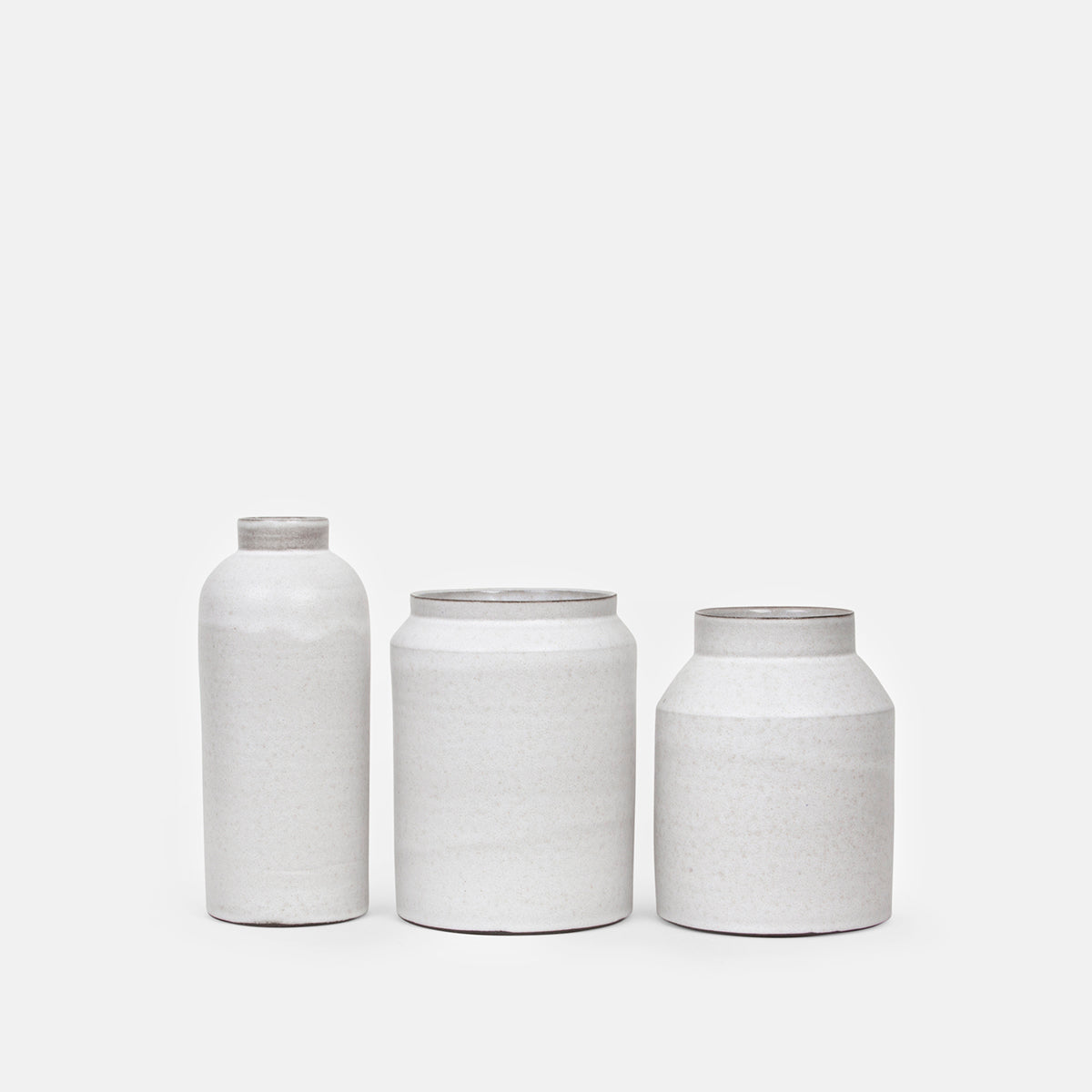 Tall White Jar