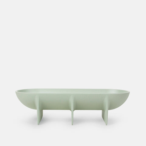 Large Standing Bowl in Sage