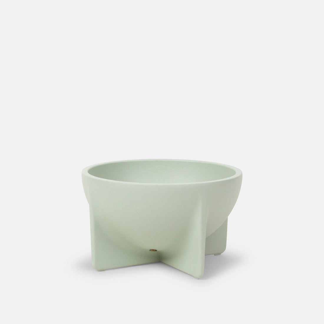 Small Standing Bowl in Sage