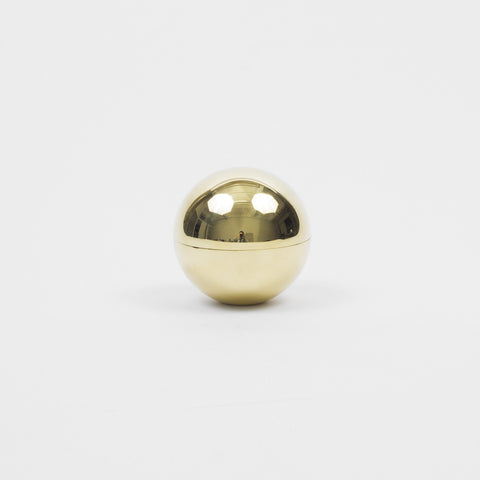 Small Brass Sphere Container