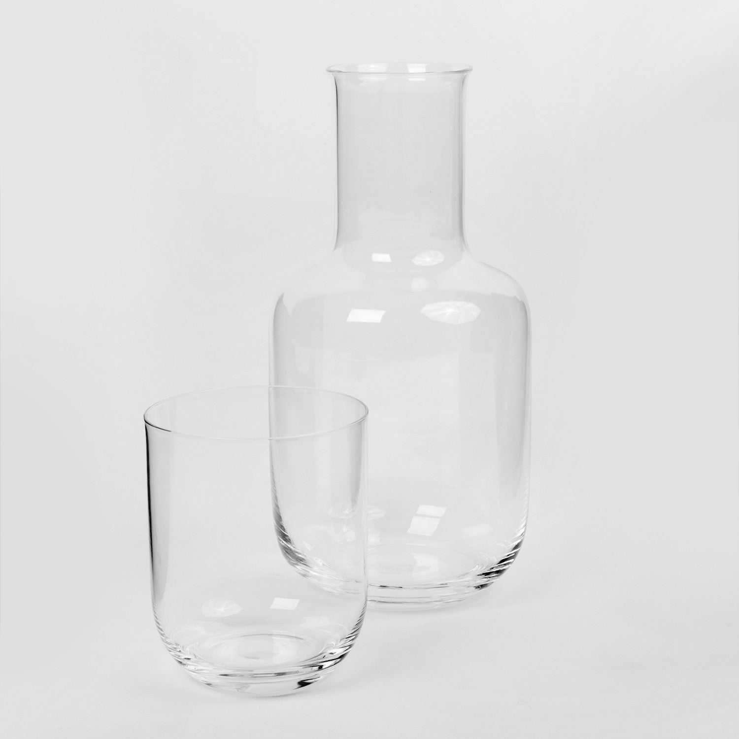 Clear Carafe With Cup