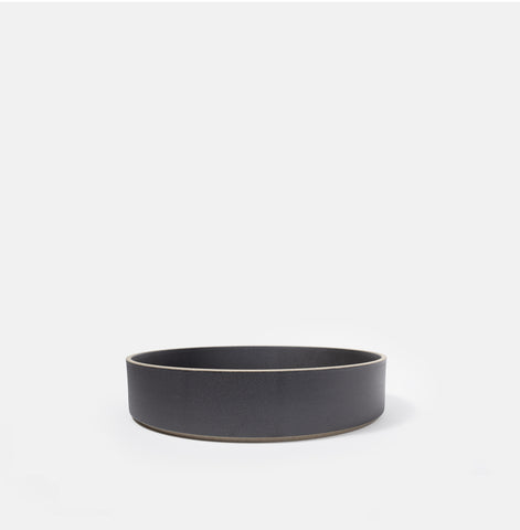 "8.5"" Cylinder Black Serving Bowl"
