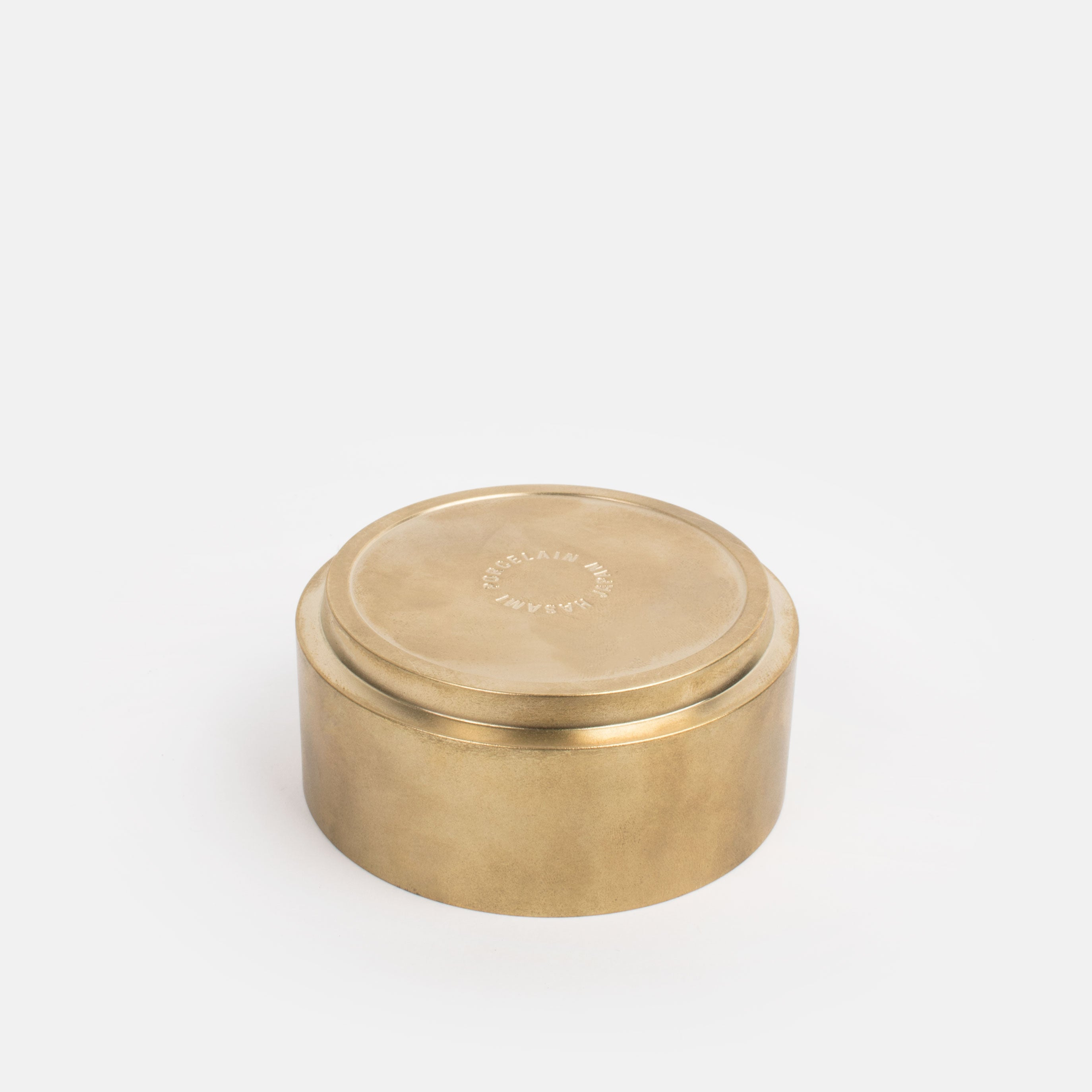 Brass Container