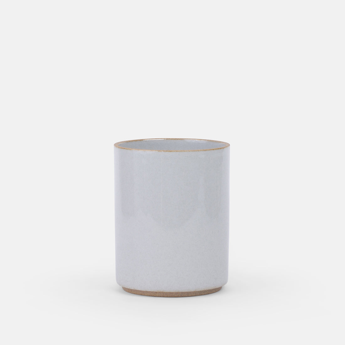 Small Gloss Grey Planter