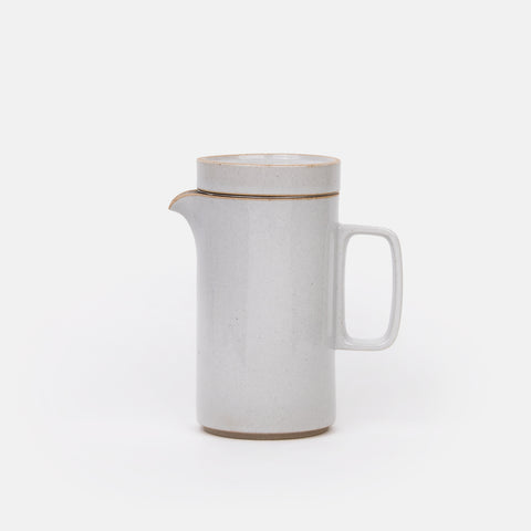 Gloss Grey Tall Teapot
