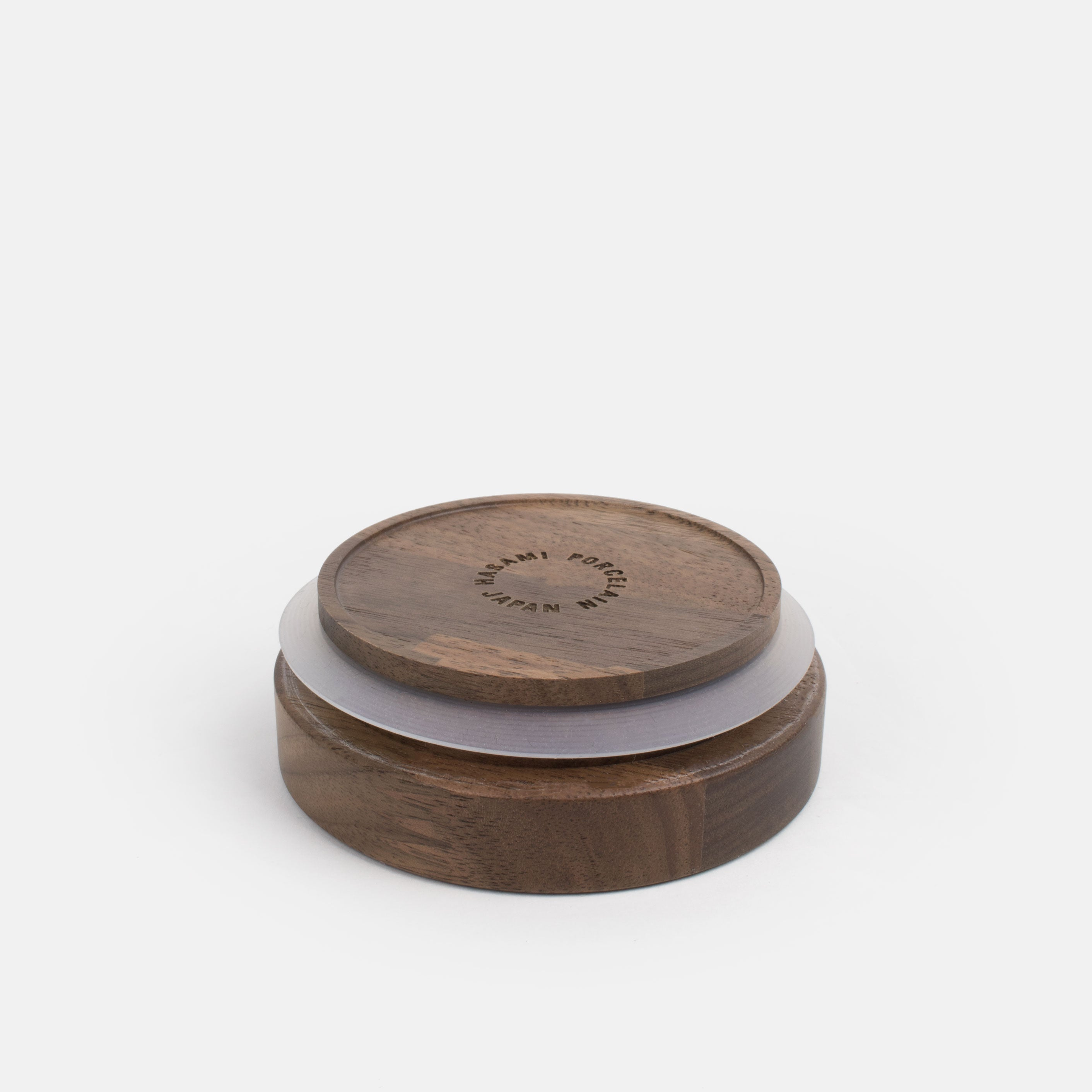 Walnut Lid with Gasket