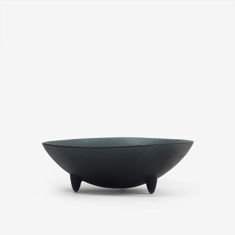 "10"" Black Spike Serving Bowl"