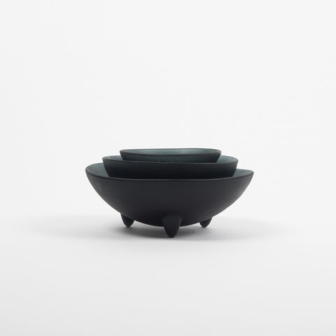 "4"" Black Spike Bowl"