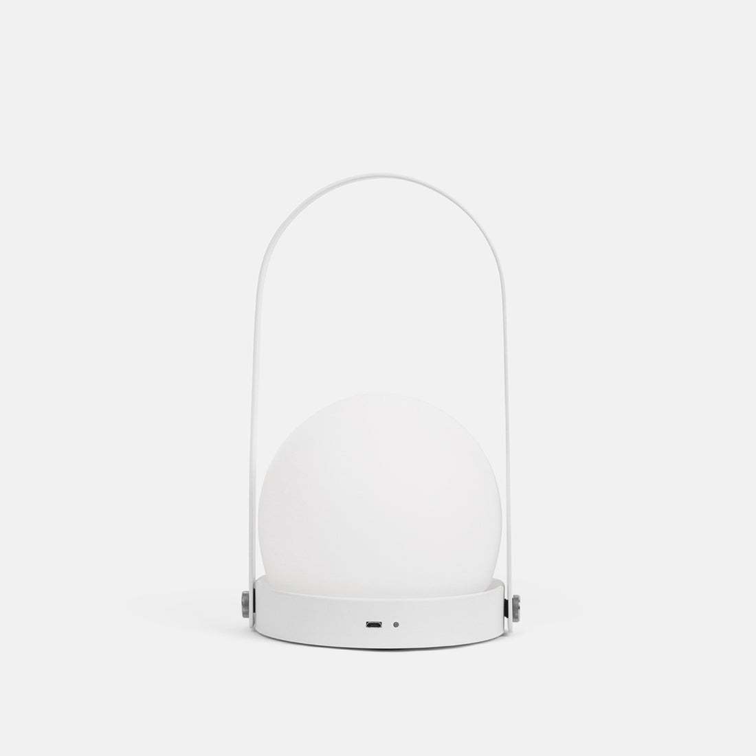 White Carrie LED Lamp