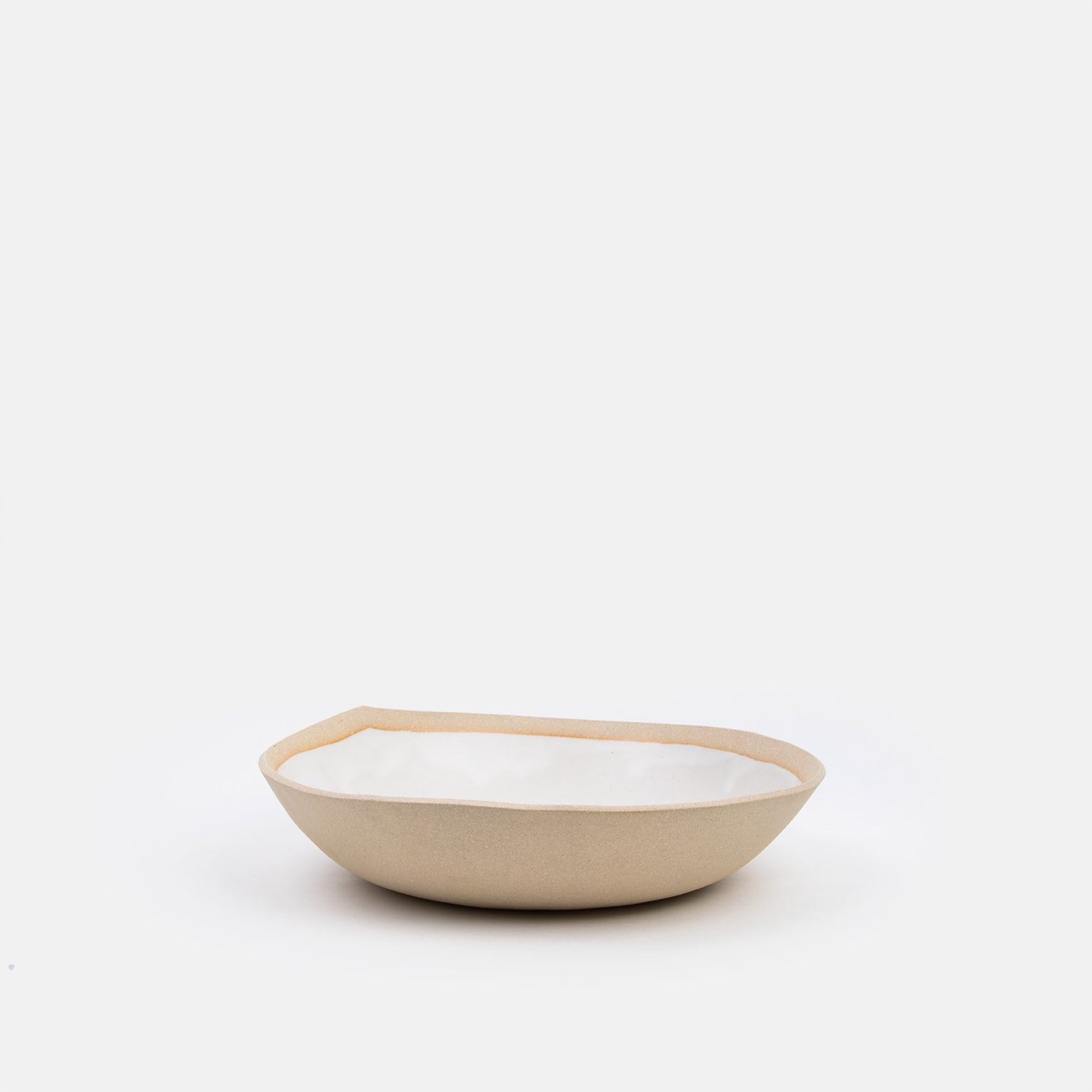 Large Joan Bowl in Buff
