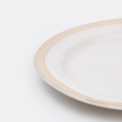 Small Joan Plate in Buff