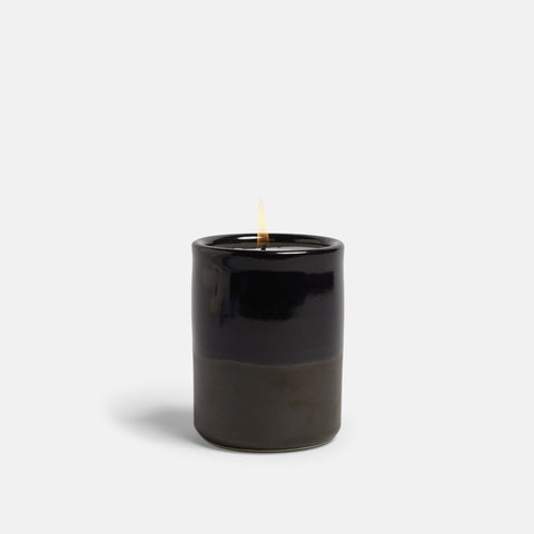 Monhegan Ceramic Candle