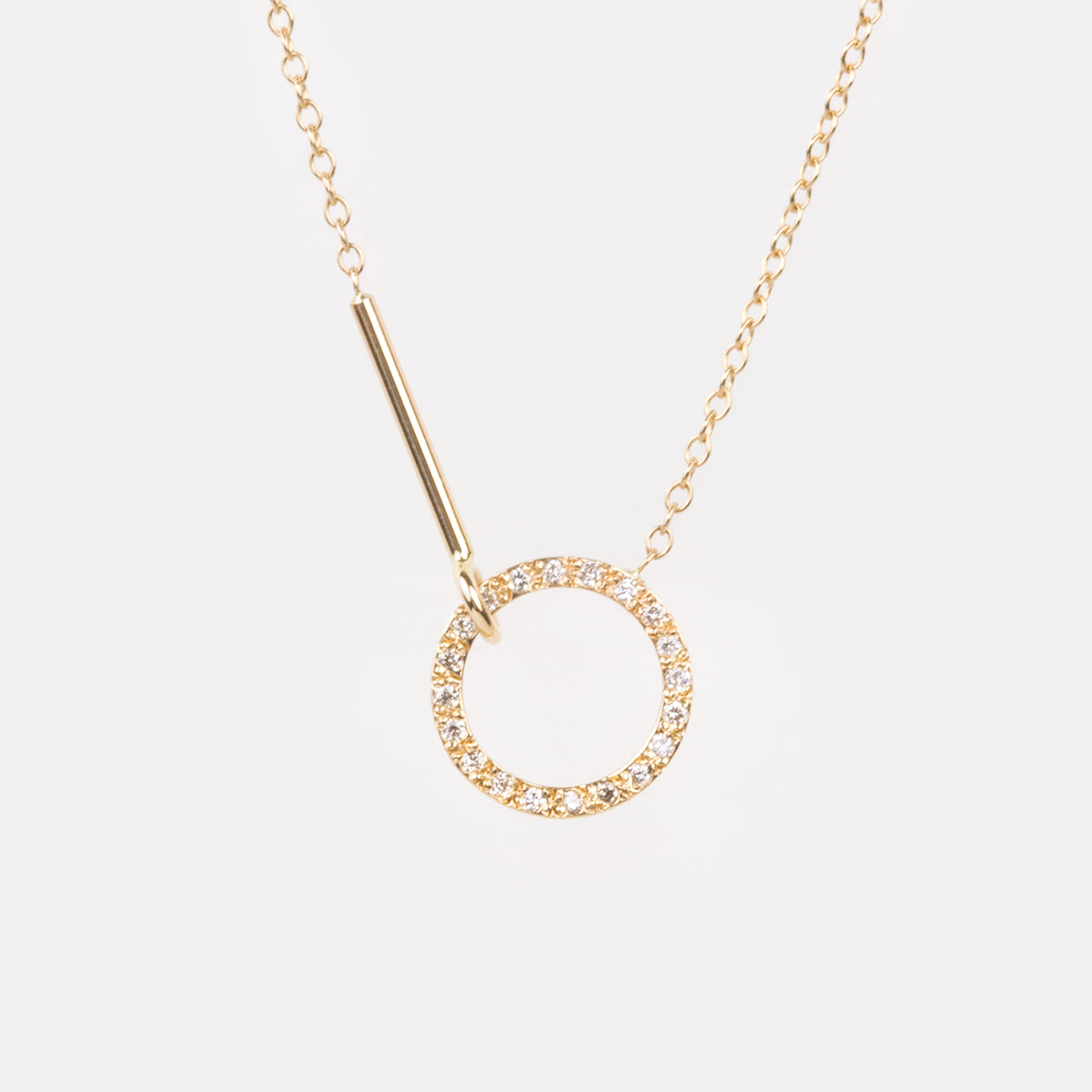 Visata Necklace with Diamonds