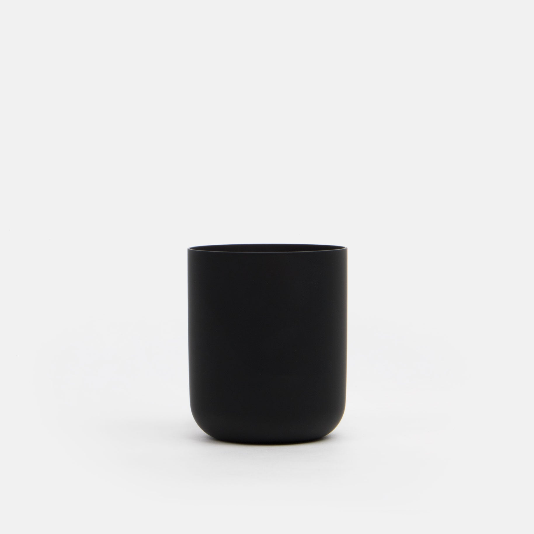 Black Glass Tumbler