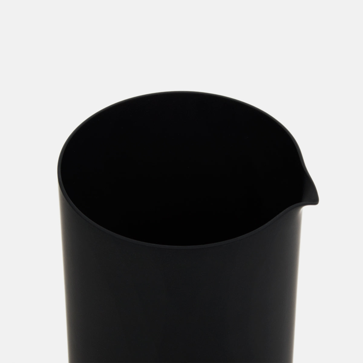 Black Glass Pitcher