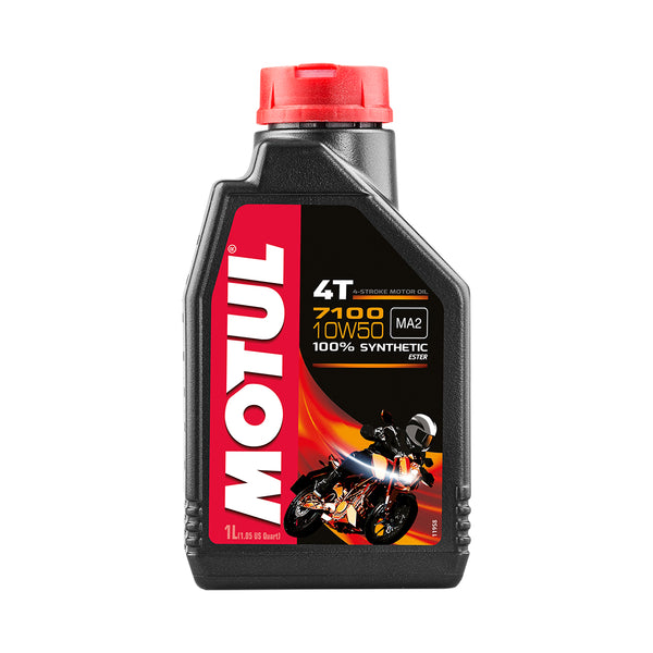 Motul Synthetic Blend Engine Oil 5100 10W50 4T