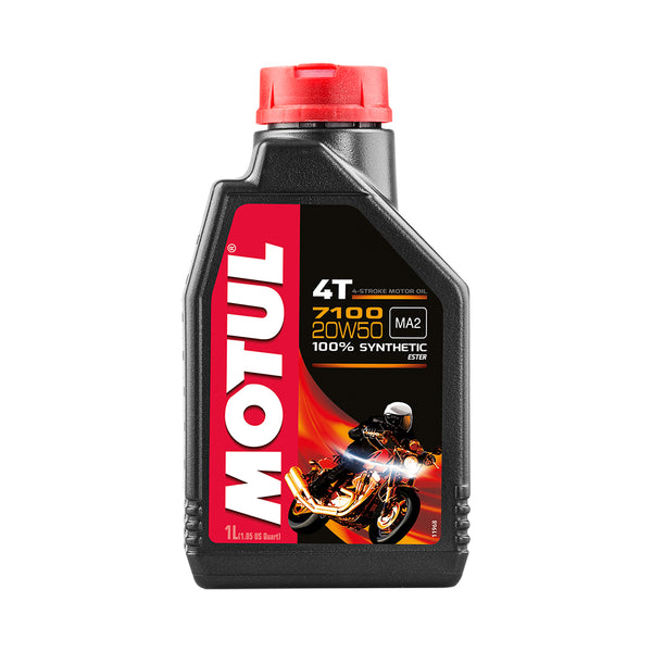 Motul 100% Synthetic Engine Oil TWIN 4T 20W50